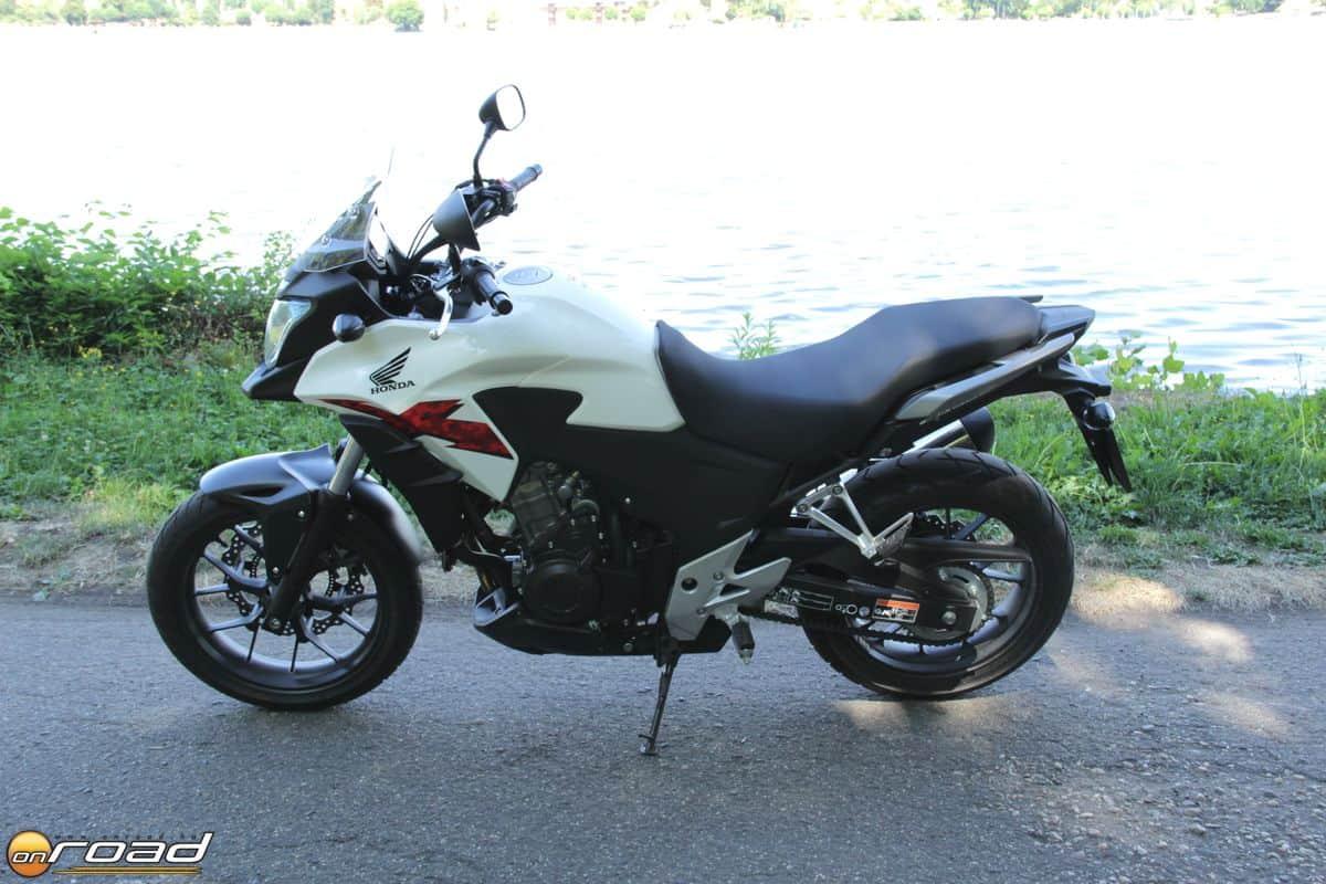 Igazi, mindennapi használatra való motorkerékpár a Honda CB500X
