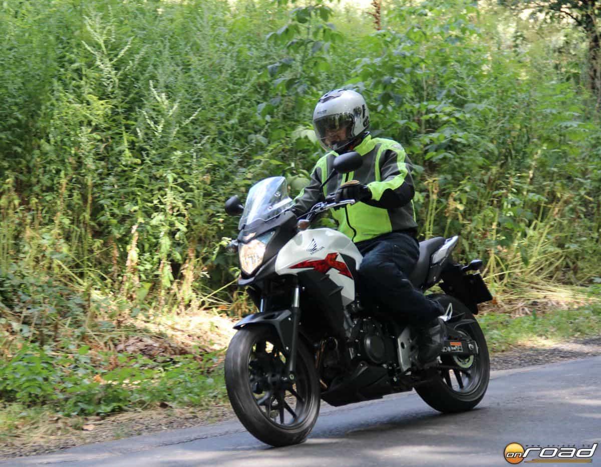Egyszerűen jó vele motorozni
