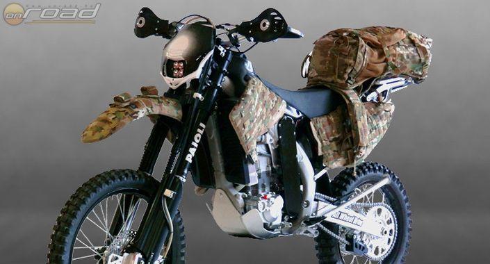 Egy nagyon kemény igénybevételre készült motor: Christini AWD Military Edition