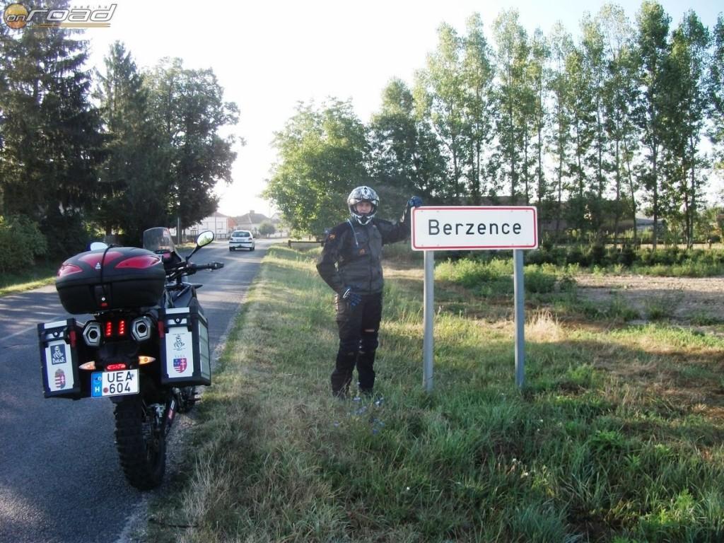Az utolsó magyarországi település a határ előtt