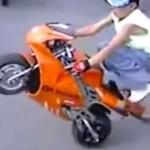 gyerek stunt onroad