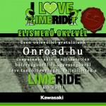 kawasaki lime ride onroad_oklevél
