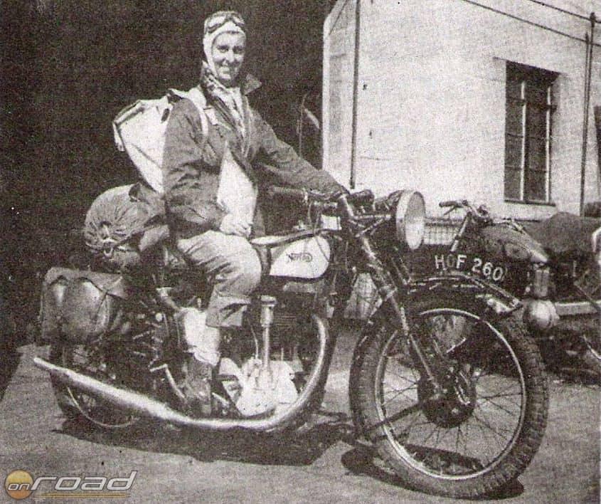 Theresa Wallach motoros pályafutása páratlanul hosszú és sikeres volt