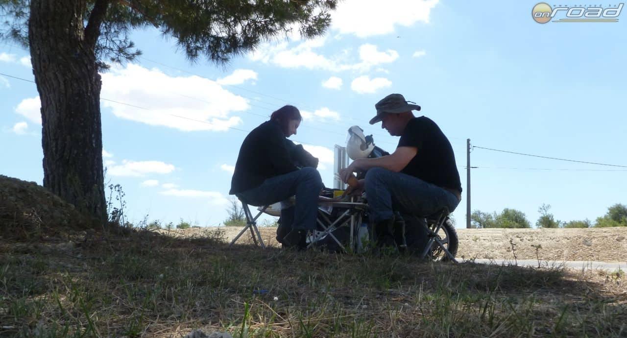 Szieszta valahol Hispániában (kisszékek és asztal nélkül sehová nem megyünk)