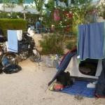 Marokkó túra onroad 15 kemping csendélet