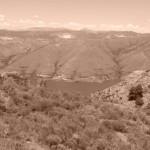 Marokkó túra onroad 17 Látkép Sierra Nevada felől