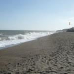 Marokkó túra onroad 19 Nyugtalan a tenger Malaga előtt