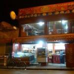 Marokkó túra onroad 32 Éjszakai élet indul