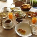 Marokkó túra onroad 34 Egyen reggeli