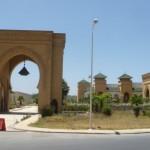 Marokkó túra onroad 36 Épülő lakópark