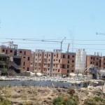 Marokkó túra onroad 38 Építkezés mindenhol