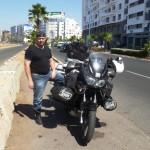 Marokkó túra onroad 40 Pihenő, Casablanca