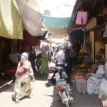 Marokkó túra onroad 54 Bazár a medinában (Marrakesh)