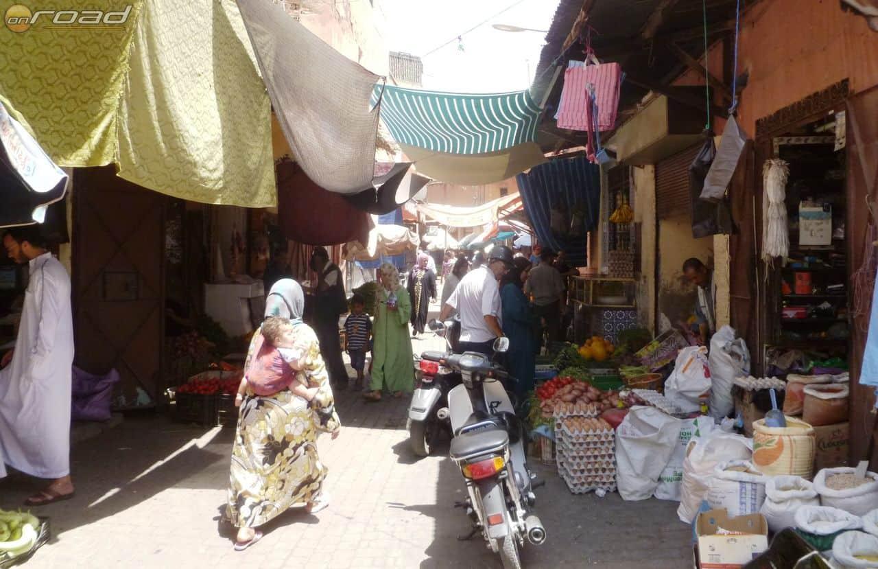 Medina Marrakesh közepén