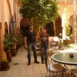 Marokkó túra onroad 56 Fürdő belső udvara