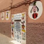 Marokkó túra onroad 58 Világi iskola bejárata