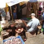 Marokkó túra onroad 60 Halárus a bazárban