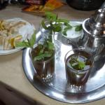 Marokkó túra onroad 65 Menta tea, a szálloda ajándéka