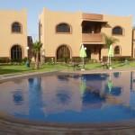 Marokkó túra onroad 66 Kis oázis, Hotel Nzaha