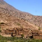 Marokkó túra onroad 73 Falu az Atlaszban