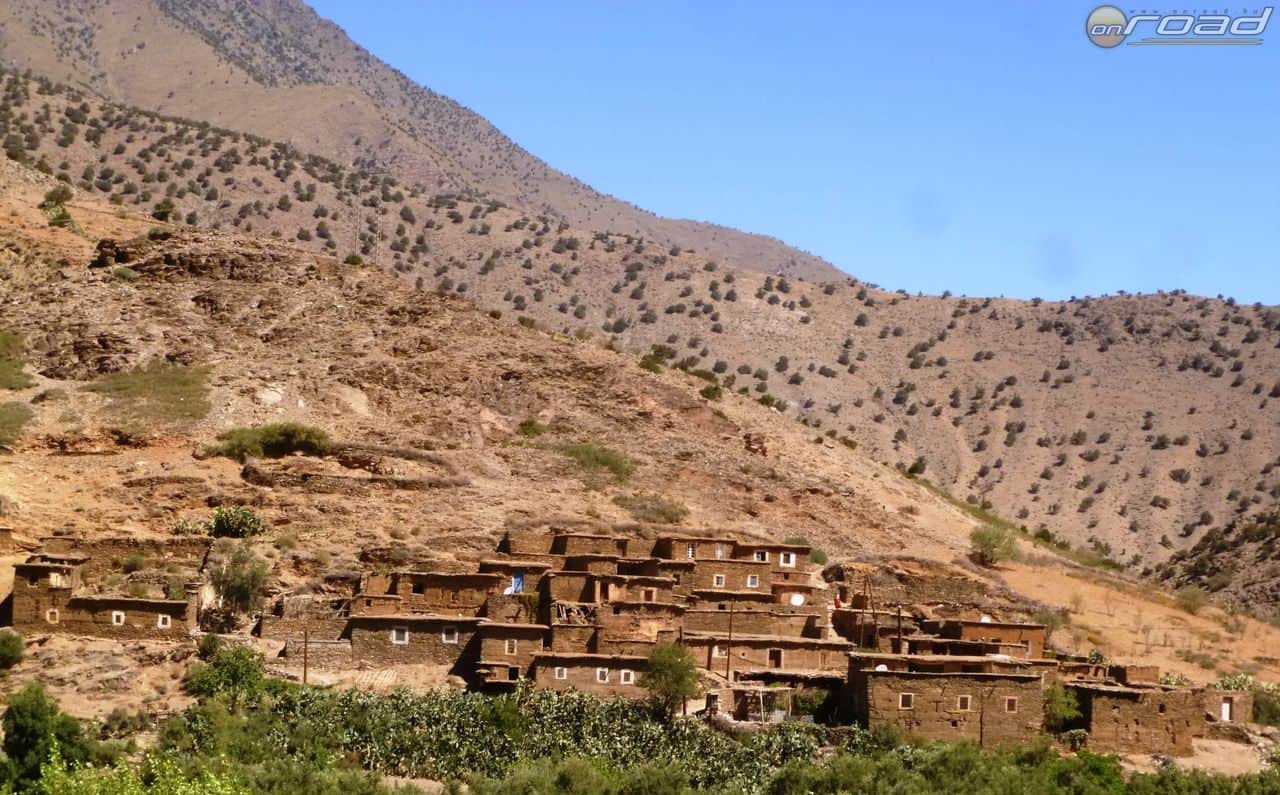 Agyag falu az Atlaszban