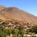 Marokkó túra onroad 74 Falu az Atlaszban 2