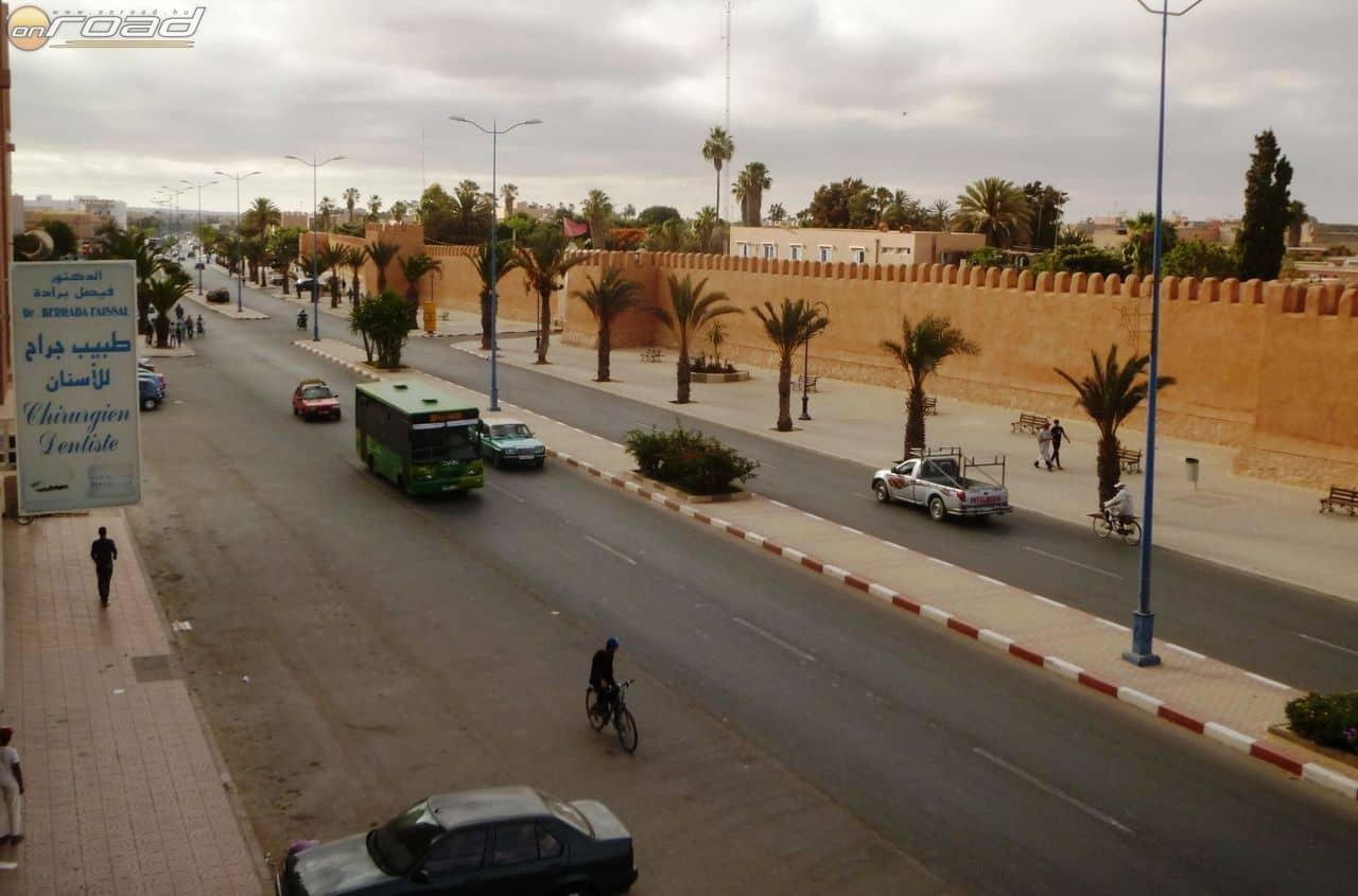 Tiznit, egy modern város Marokkóban
