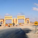 Marokkó túra onroad 80 Ahol megbüntettek (nincs stop tábla)