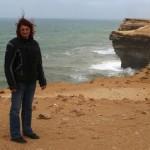 Marokkó túra onroad 84 Igen szeles terep