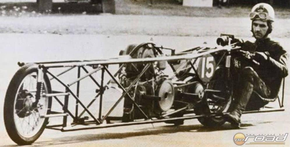 Drag-Waye: versenymotor Bogármotorral. Ezzel milyen lehetett 250-re gyorsulni 400 méteren?