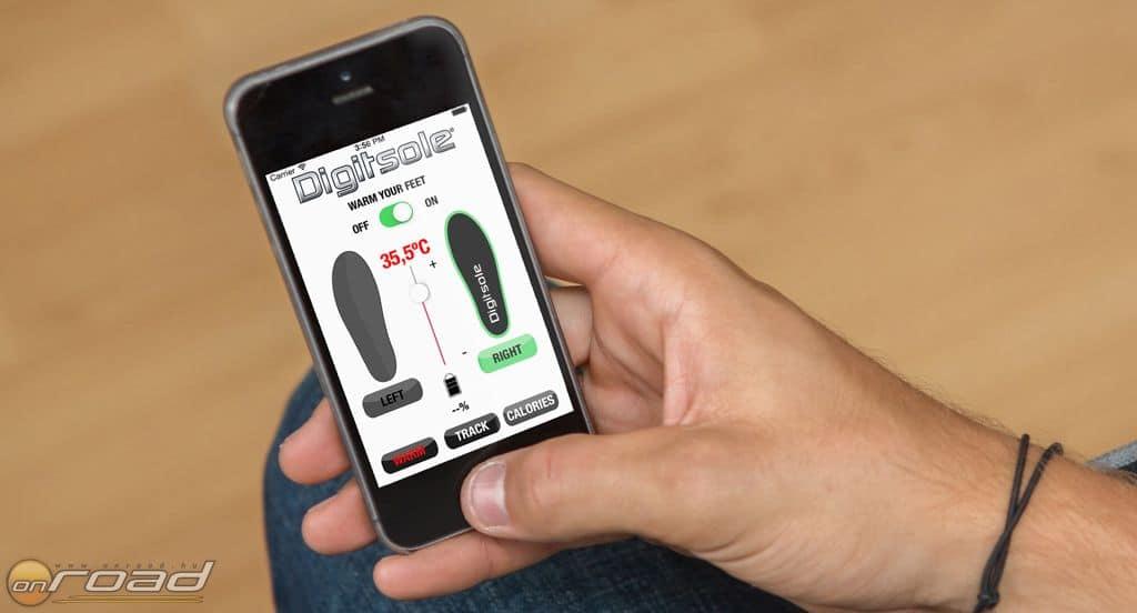 60f7c17fc585 Ha fázik a lábad, fűtsd fel telefonról! Bemutatkozik a Digitsole ...