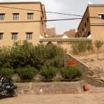 Marokkó túra onroad 104 Megmentőnk, a Hotel Zaghour