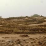 Marokkó túra onroad 113 Homokfogó gátak
