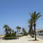 Marokkó túra onroad 133 Asilah, parti sétány