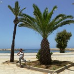 Marokkó túra onroad 134 Asilah, parti sétány 2