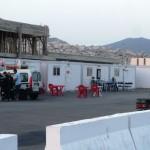 Marokkó túra onroad 139 Ramadán vége, a kikötőiek készülnek az esti reggelijükre