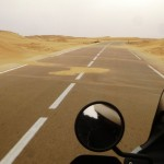Marokkó túra onroad 95 Homok átfúvások