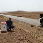Marokkó túra onroad 99 A kötelező köves fotó
