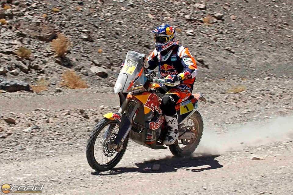 Marc Coma és az idei győztes motor - tökéletes párost alkottak 2015-ös Dakar során