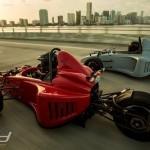 motor motoros autók onroad nyitó