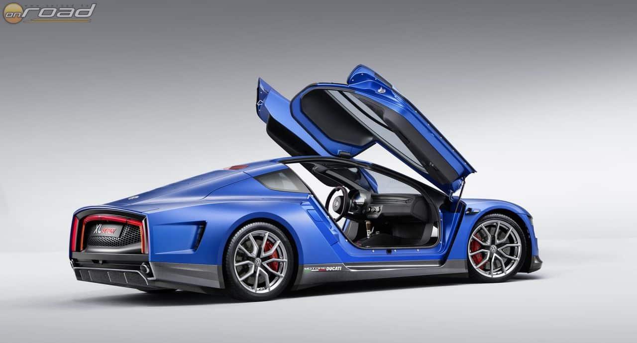 Volkswagen XL Sport: elektromos hajtás egy Ducati szupersport blokkal megtámogatva