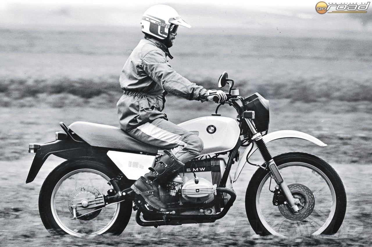 Az R80 G/S forradalmasította a túramotorok világát - és megmentette a BMW Motorradot
