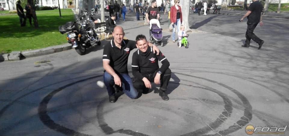 A szervezők: Balogh Csaba és jómagam, Zvolenszki János