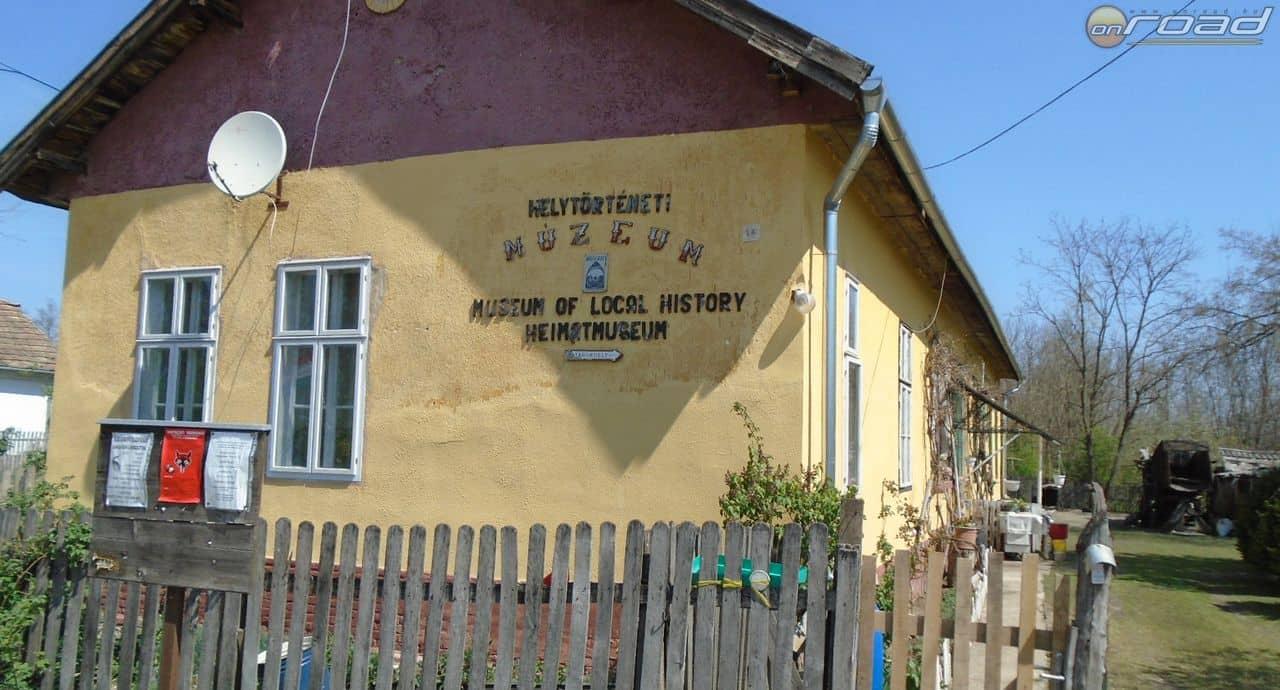 Tanyasi iskola volt, ma magánmúzeum