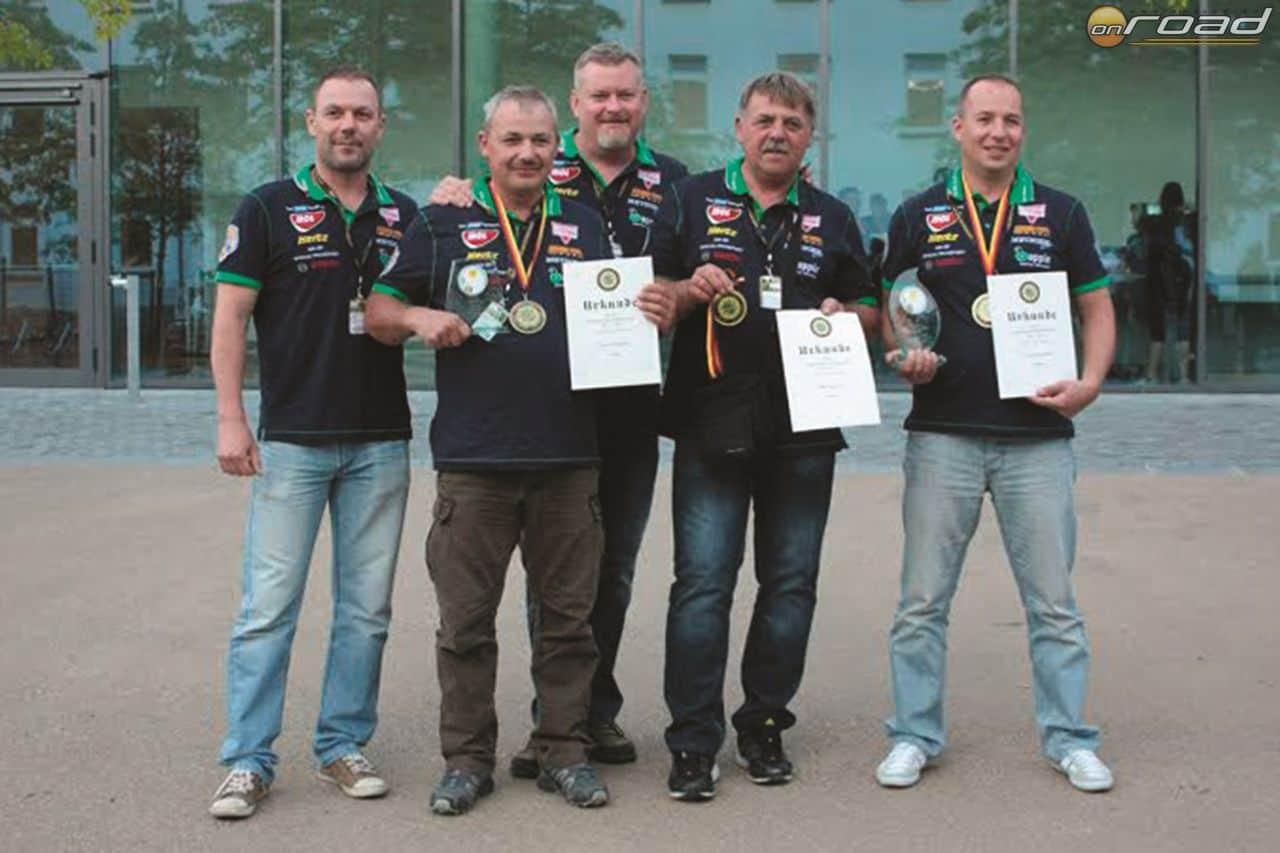 A Hungária Rendőr Egylet versenyzői