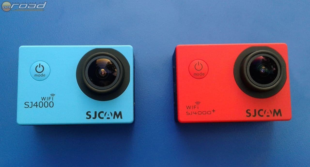 Az SJ4000Wifi és az SJ4000+ külsőre semmiben nem különbözik. Mindkettő sokféle színben kapható, és a '+' kivitel 2K-s mozgóképet is tud rögzíteni