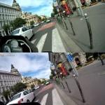 sjcam teszt onroad onboard gopro vs sj5000
