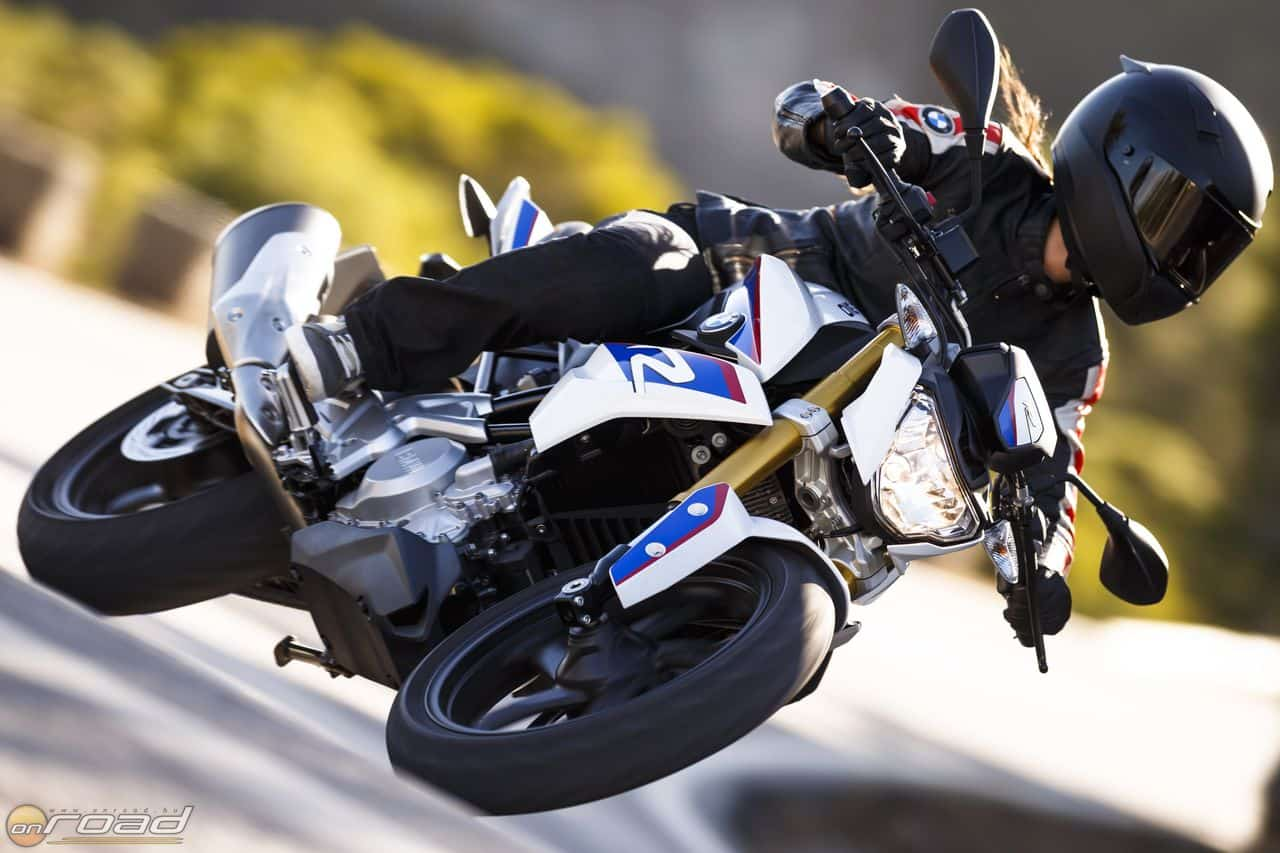 Bajorosan minőségi futóművet remélhetünk a BMW Motorrad újdonságától