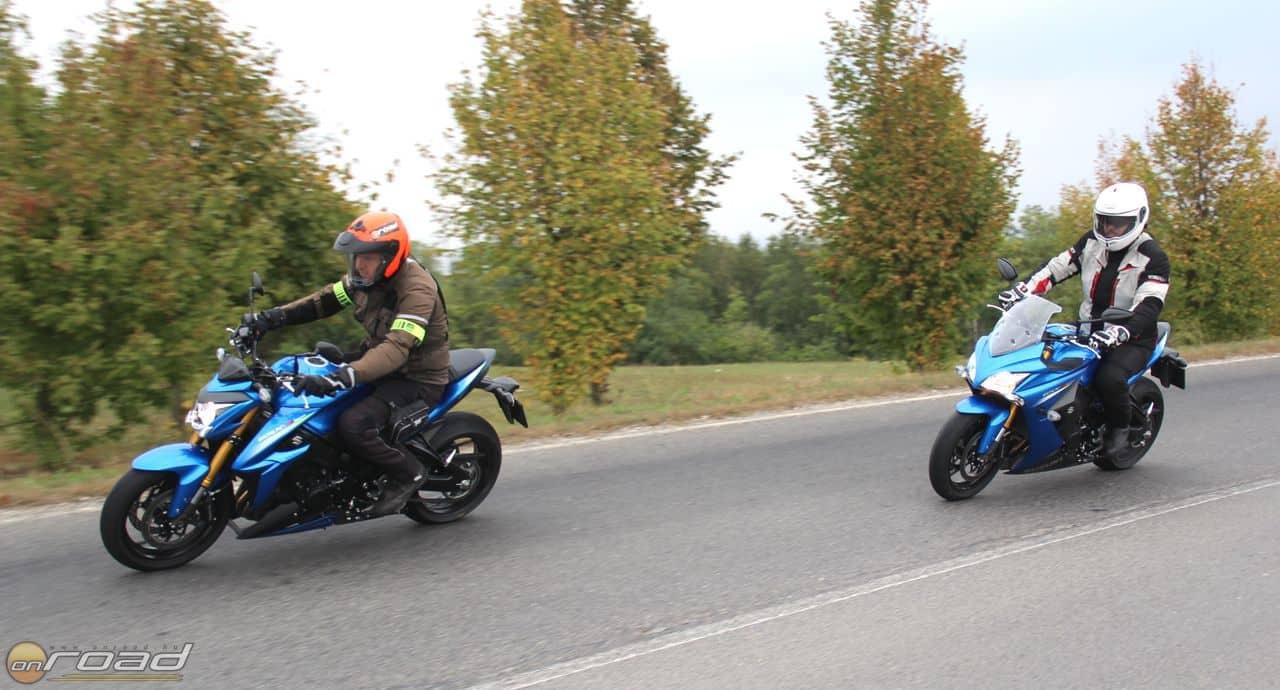 Más, de mindkettővel jó motorozni
