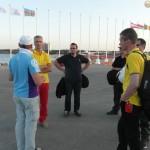Útvonalbiztosítás Baku túra Onroad 20150608_004_Első eligazítás